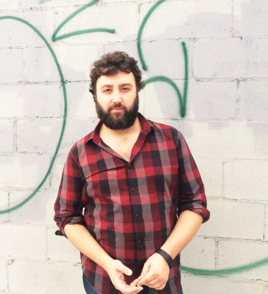 Portrait of Scott Wollschleger